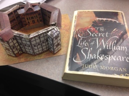 Shakespeare-inspired gifts from students/parents.