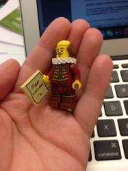 Shakespeare Lego!
